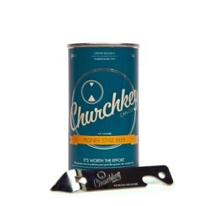 La bière en canne de Churchkey, classique et délicieuse