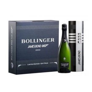 Incarnate James Bond with Bollinger 002 for 007 Champagne
