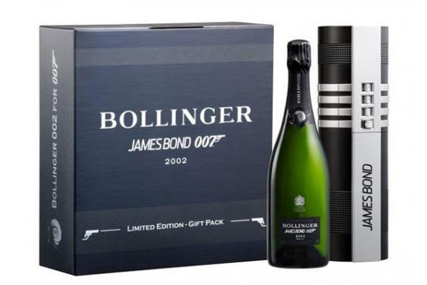 Personnifiez James Bond grâce au champagne Bollinger 002 for 007