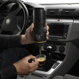 Handpresso Auto, the Portable Espresso Machine for your Car