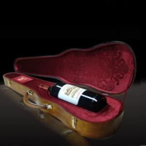 Le Magnum 2008 de Château Fombrauge offert dans un étui de Stradivarius