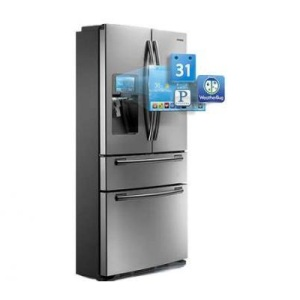 WiFi-Enabled Smart Fridge by Samsung