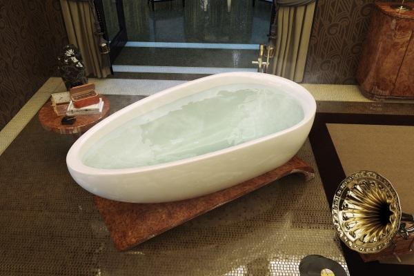 Viaggi Freestanding Bathtub by Maax Collection | Baxtton