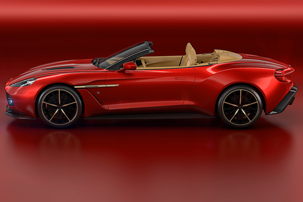 aston martin vanquish zagato volante limited edition convertible baxtton. Black Bedroom Furniture Sets. Home Design Ideas