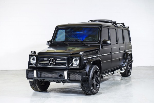 Luxury armored mercedes g36 amg by inkas baxtton for Mercedes benz g36