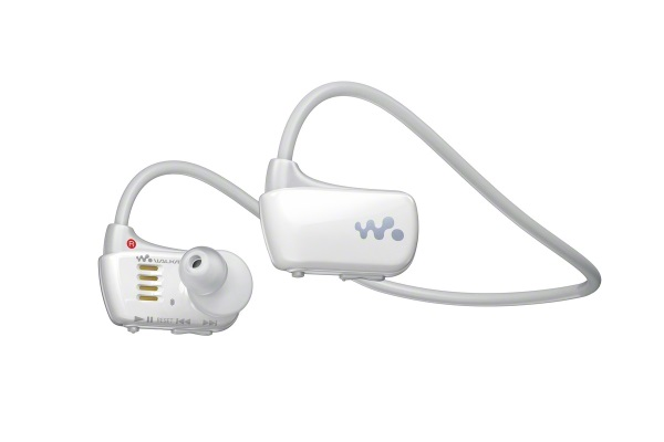 sony walkman nwz w273 water resistant headphones and mp3. Black Bedroom Furniture Sets. Home Design Ideas