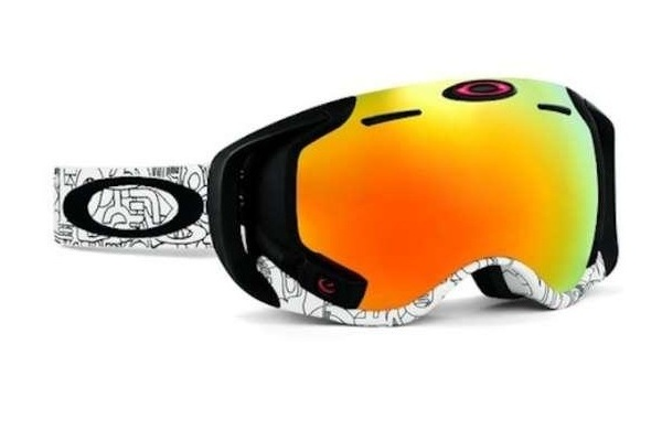 lunettes de ski oakley airwave avec technologie int gr e. Black Bedroom Furniture Sets. Home Design Ideas