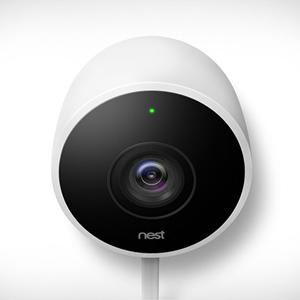 Caméra extérieure Nest, beau temps mauvais temps