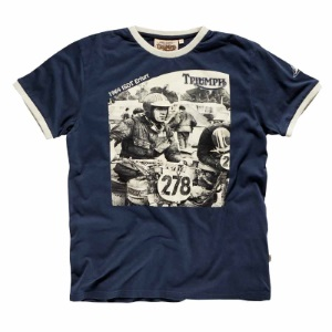 Triumph Motorcycles McQueen T-Shirt Collection