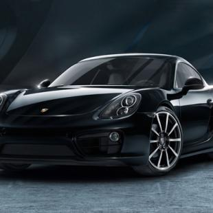 Porsche Cayman, Black Edition
