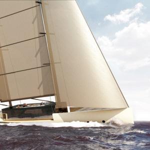 Salt Sailing Yacht, a Concept by Lujac Desautel