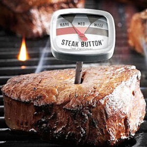 The Steak Button, for perfectly cooked meat