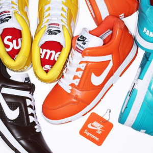 Chaussure Supreme/Nike SB Air Force 2