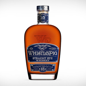 Straight Rye Whiskey 15 ans, de WhistlePig