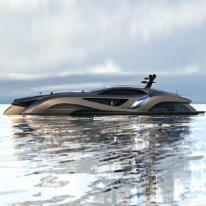 Yacht Xhibitionist, de Gray Design